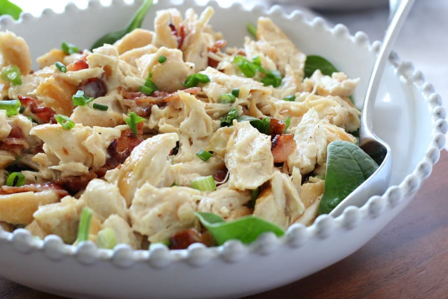 bacon scallion chicken salad 4