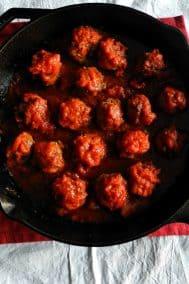 Kid Friendly Paleo Turkey Meatballs {No One Cries}