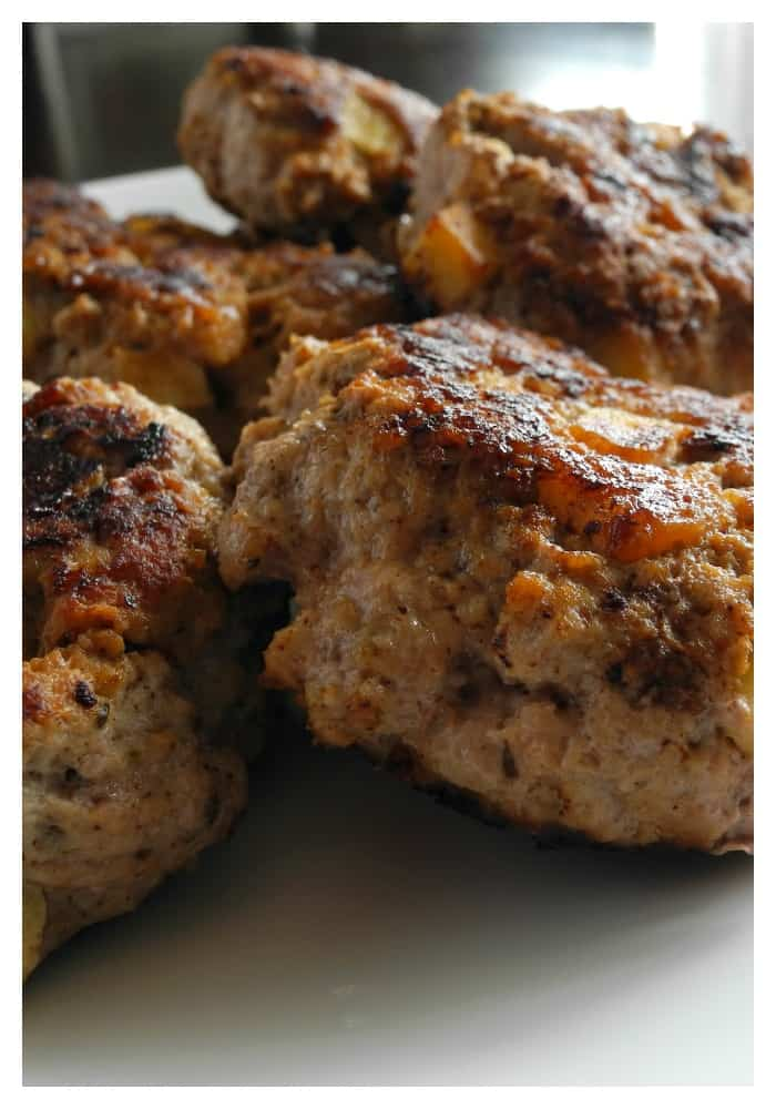 Chicken apple sausage - #paleo #whole30 #sugarfree