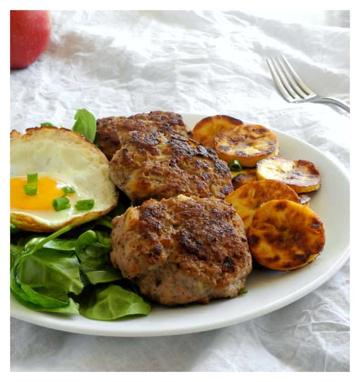 Easy Homemade Chicken Apple Sausage Paleo Whole30