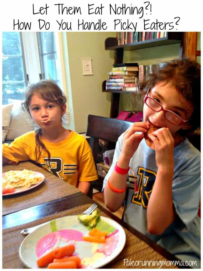 How Do You Handle Picky Eaters @paleorunmomma