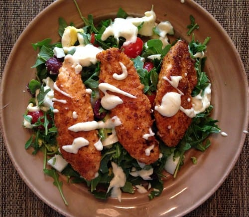 Yup It's About Time…Paleo Crispy Chicken Salad!