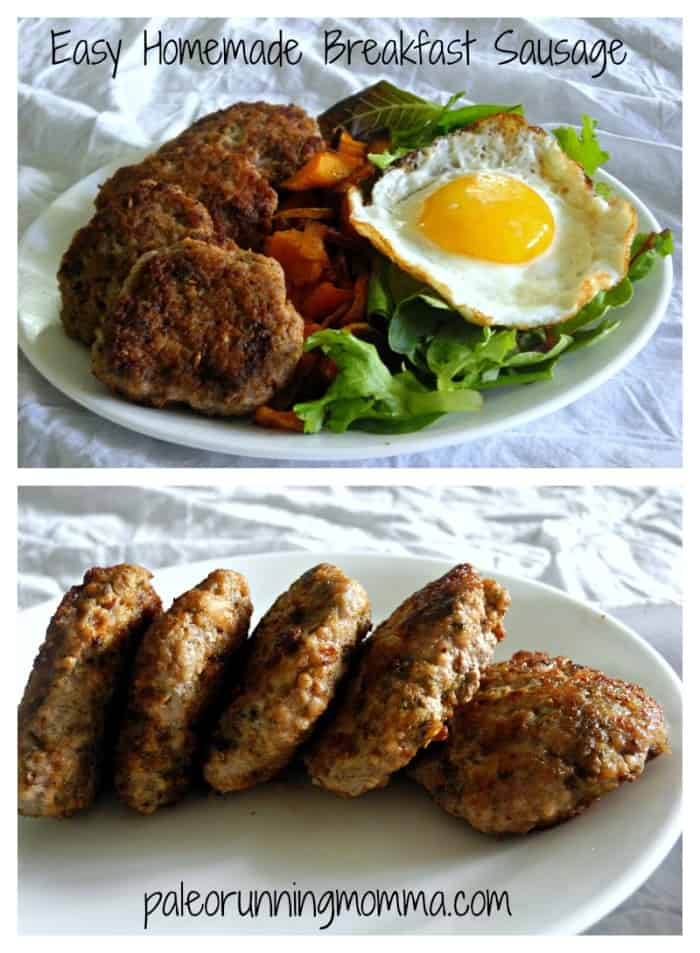 Easy Homemade Breakfast Sausage {Paleo & Whole30}
