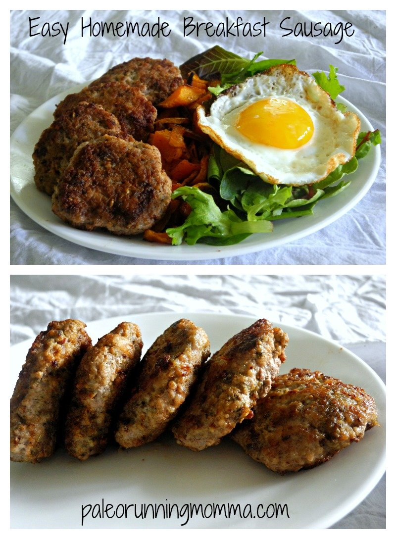 Easy Homemade Breakfast Sausage @paleorunmomma