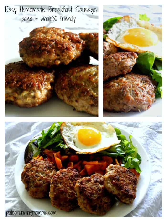 Easy Homemade Breakfast Sausage #paleobreakfast #whole30friendly