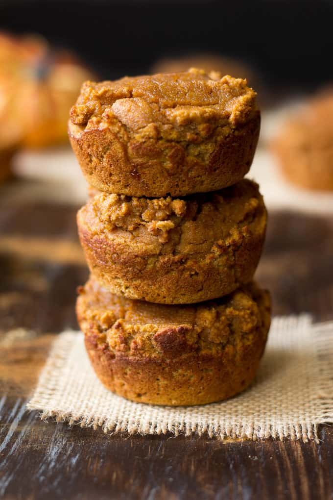 honey pumpkin pie muffins-4