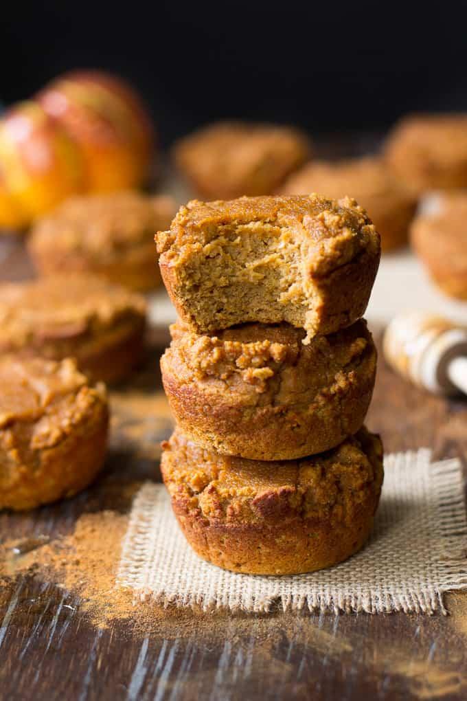 honey pumpkin pie muffins-6