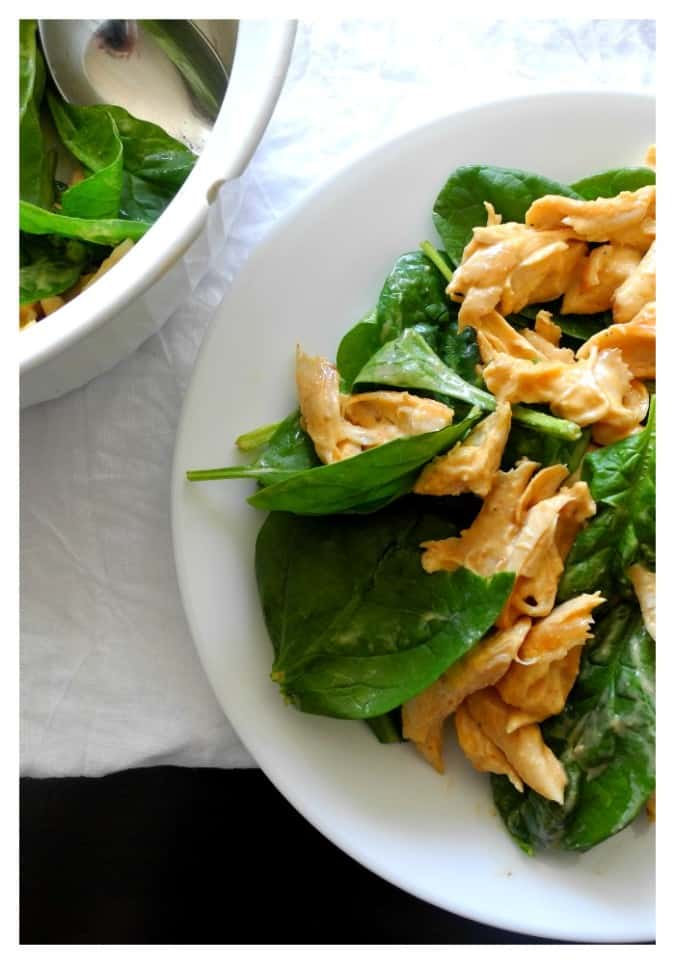Chipotle ranch chicken salad - paleo & Whole30 @paleorunmomma