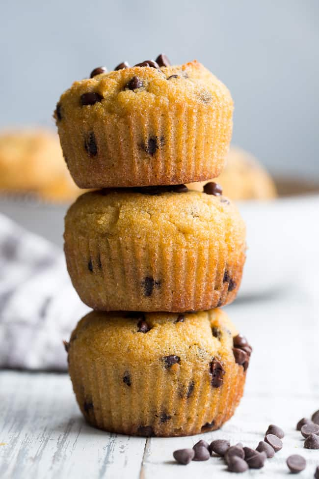 Easy Chocolate Chips Muffins Grain Dairy And Nut Free