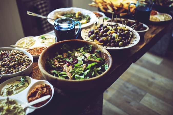 kaboompics.com_Lunch table - salad