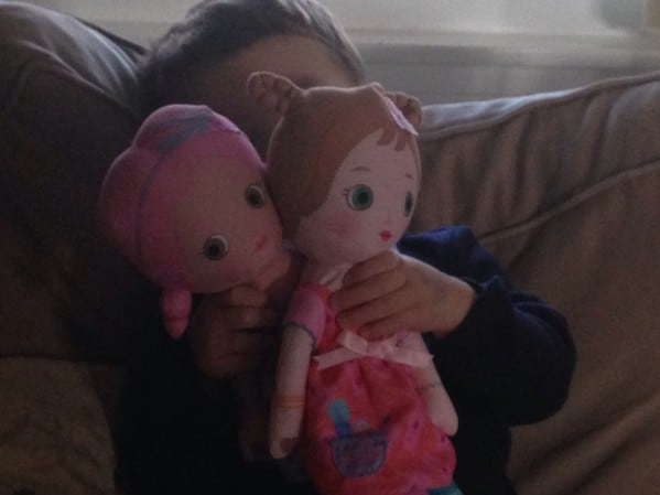Still playing with dolls at least