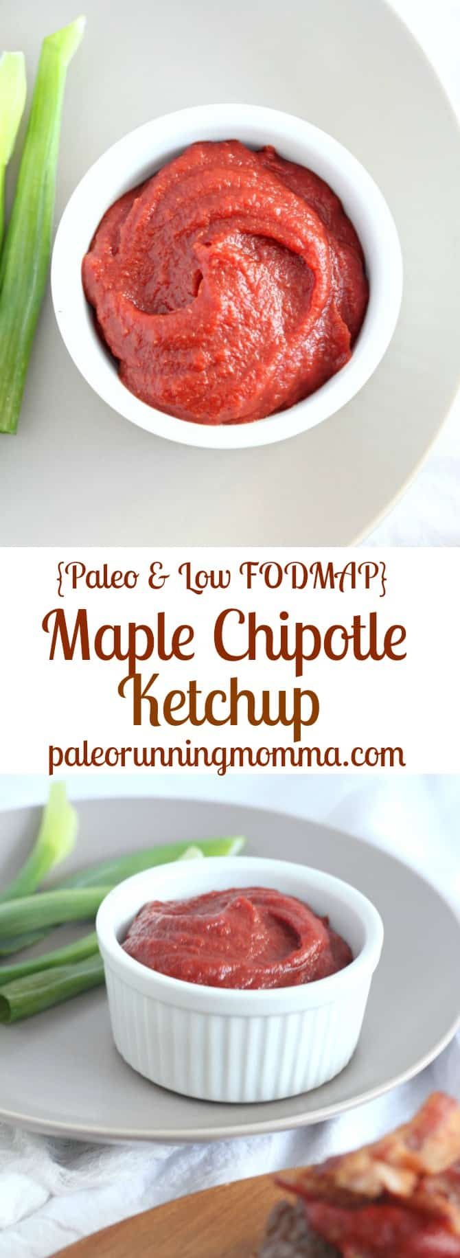 Maple Chipotle Ketchup - Paleo and Low FODMAP #glutenfree #paleo