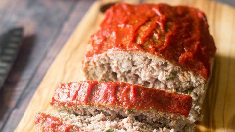 Easy Paleo Low FODMAP Meatloaf {gluten free, whole30}