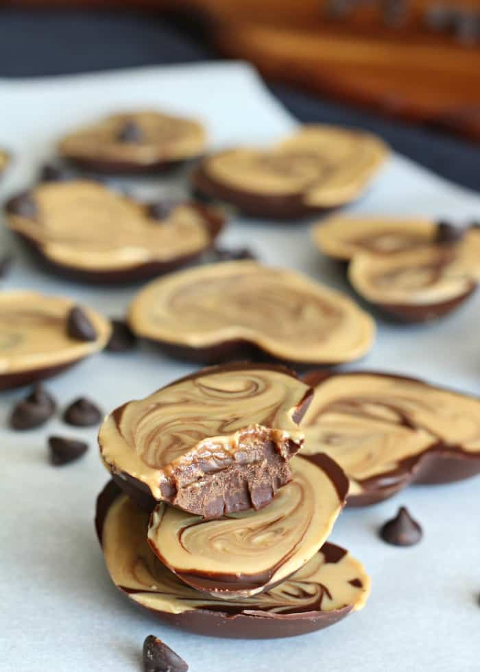 Chocolate Cashew Butter Candy Cups Paleo Amp Vegan