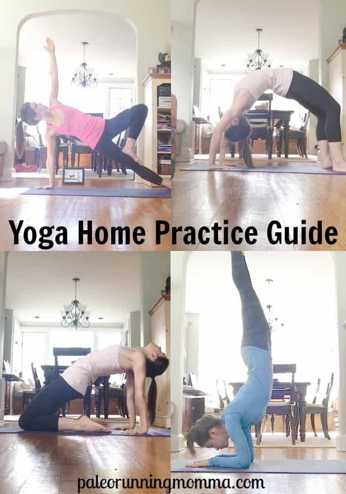 #Yoga Home Practice Guide #yogaforrunners @paleorunmomma