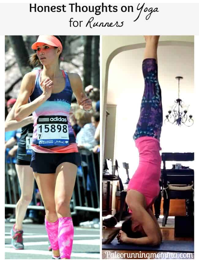 yoga for runners @paleorunmomma