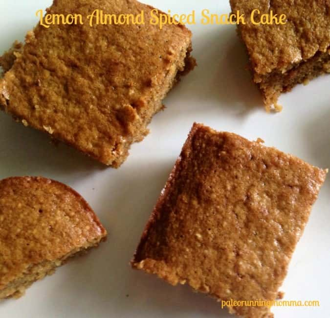 lemon snack cake