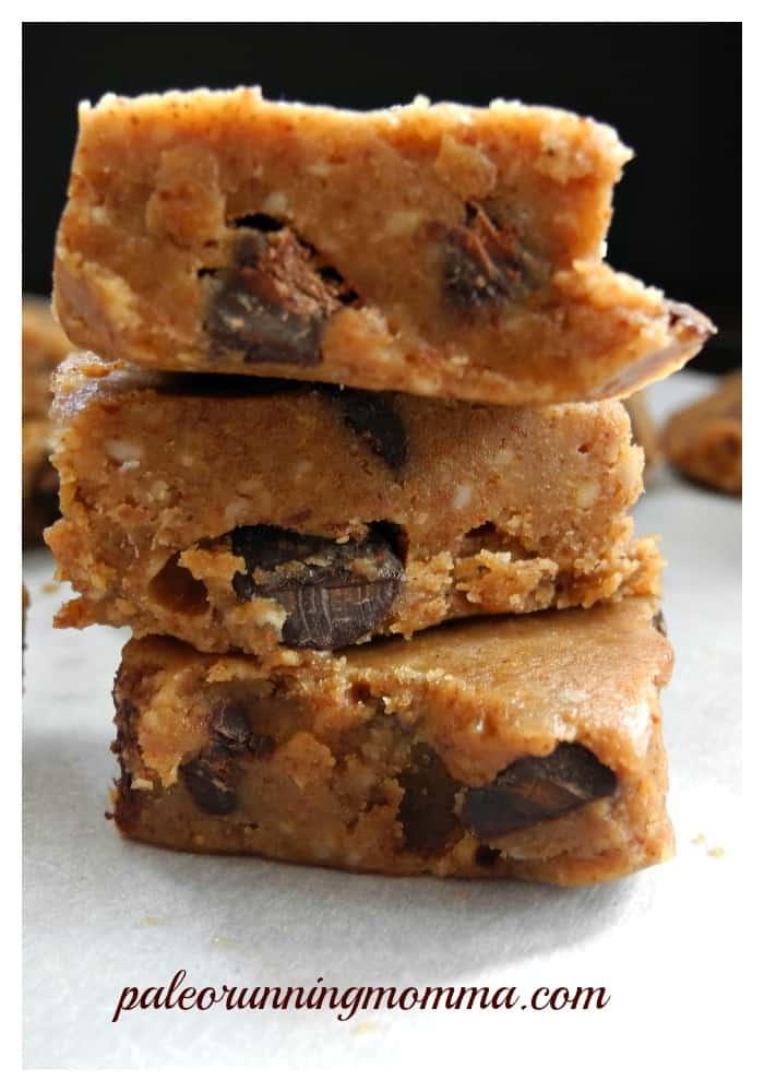 Chocolate cookie dough fudge @paleorunmomma #paleo