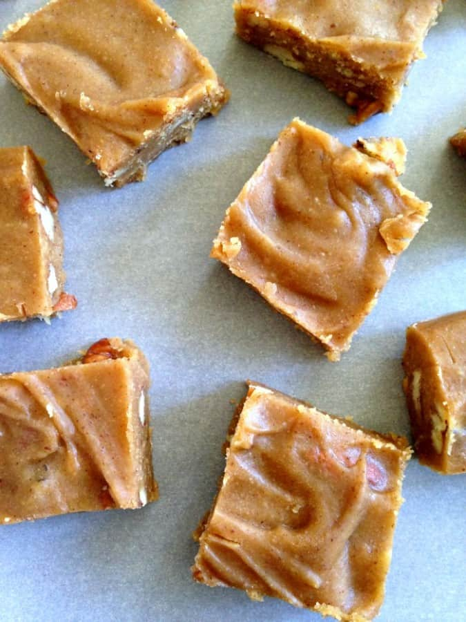 vanilla maple nut fudge