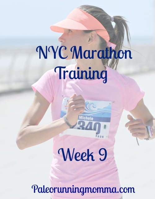 NYC Marathon training