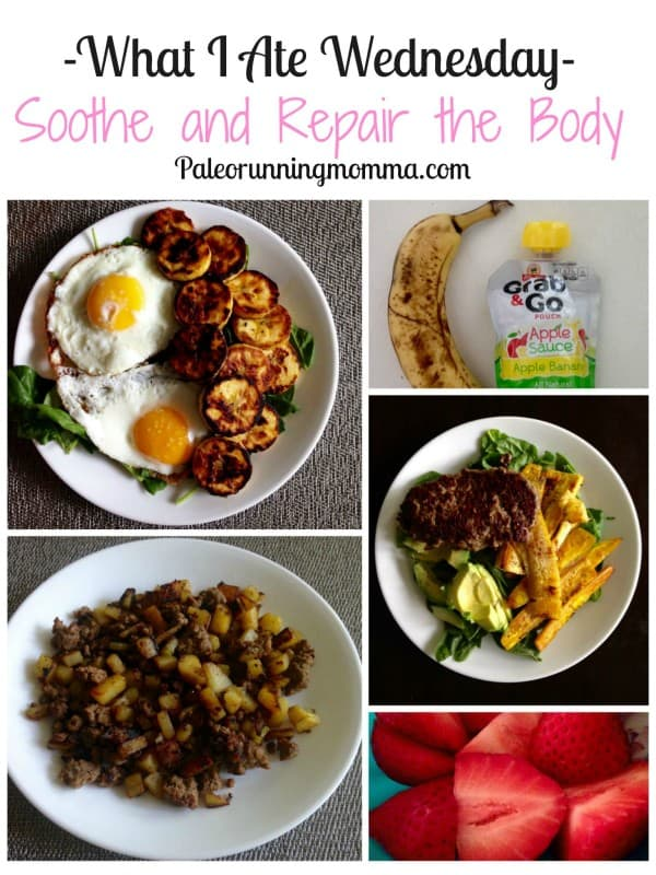 WIAW Soothe and repair the body after illness