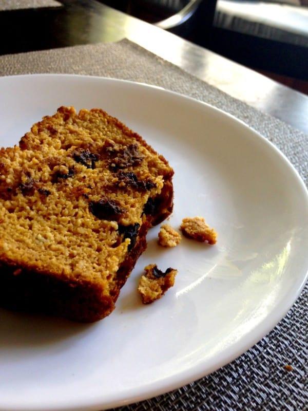 pumpkin breakfast bread