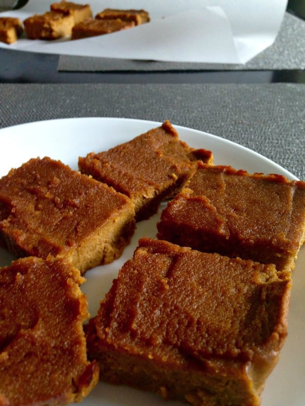 pumpkin pie bars without pecan layer @paleorunmomma