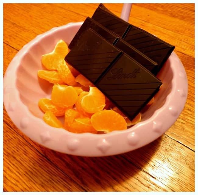 oranges and chocolate