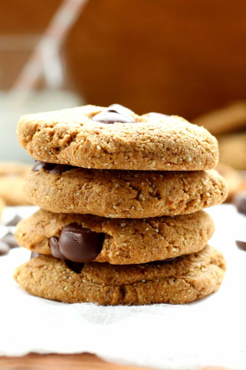 ultimate soft and chewy chocolate chip cookies - paleo and gluten free