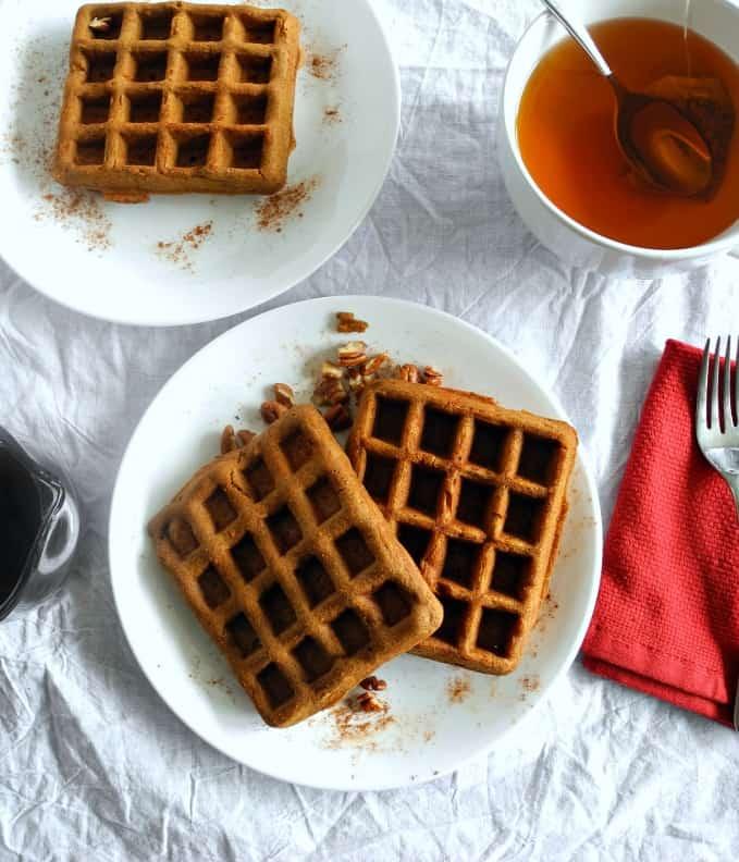 Gingerbread waffles #paleo