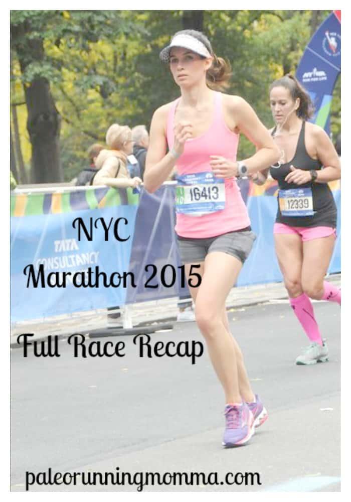 NYC Marathon 2015 Full Race Recap @paleorunmomma