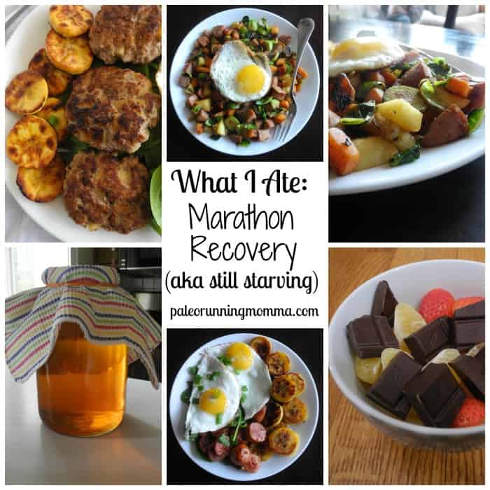 What I Ate Marathon Recovery #paleo @paleorunmomme #paleorunner