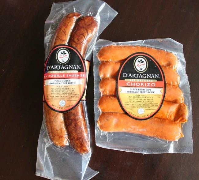 D'Artagnan Sausage - chorizo