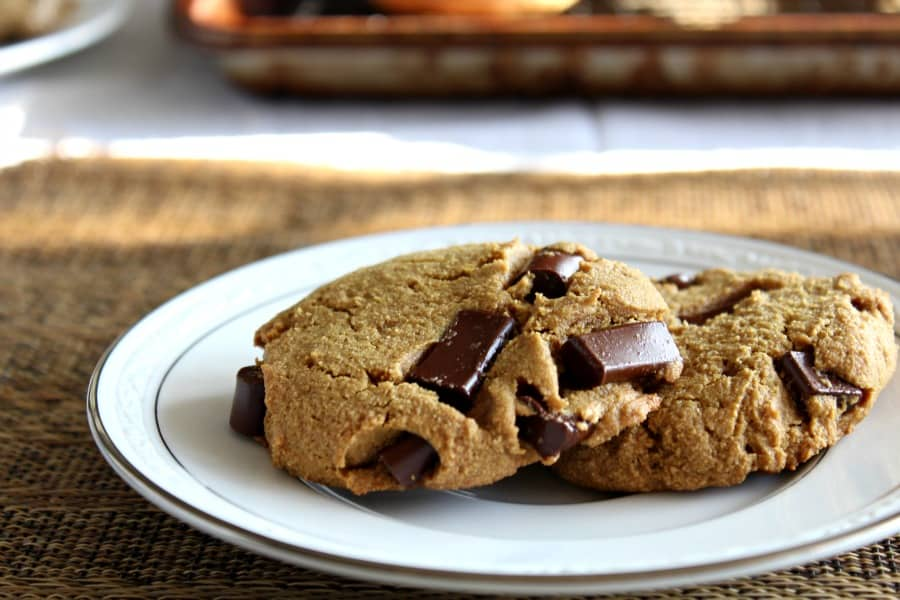 Paleo Chocolate Chunk Cookies 2