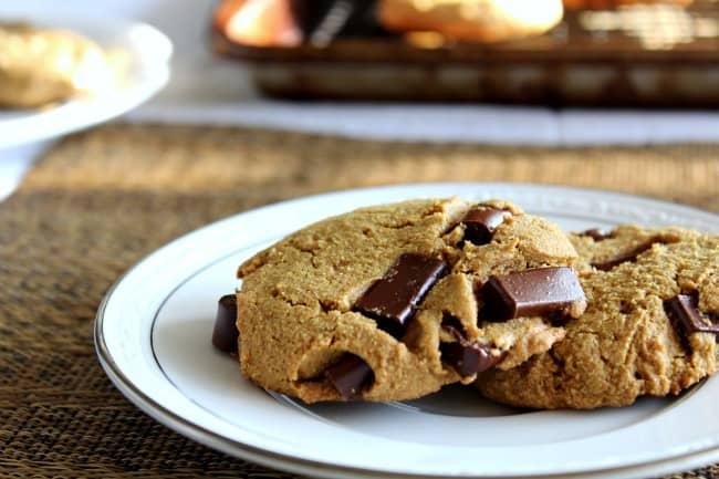 WIAW chocolate chunk cookie