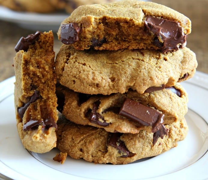Paleo Peanut Butter Cookies With Chocolate Chips
