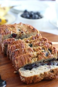 Banana Blueberry Bread - Paleo and nut free