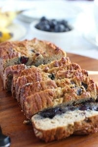 Banana Blueberry Bread - Paleo and nut free
