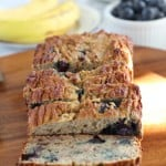 Banana Blueberry Breakfast Bread {Paleo & Nut Free}