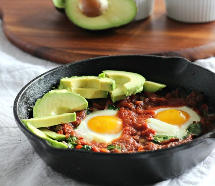 Chipotle Taco Breakfast Bake with eggs
