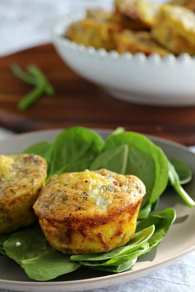 Sausage Pizza Egg Muffin