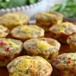 Sausage Pizza Egg Muffins {Paleo & Whole30}