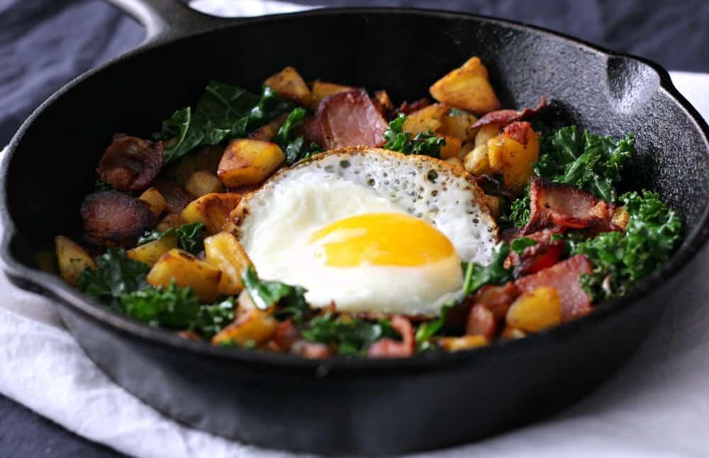 3 ingredient paleo skillet breakfast