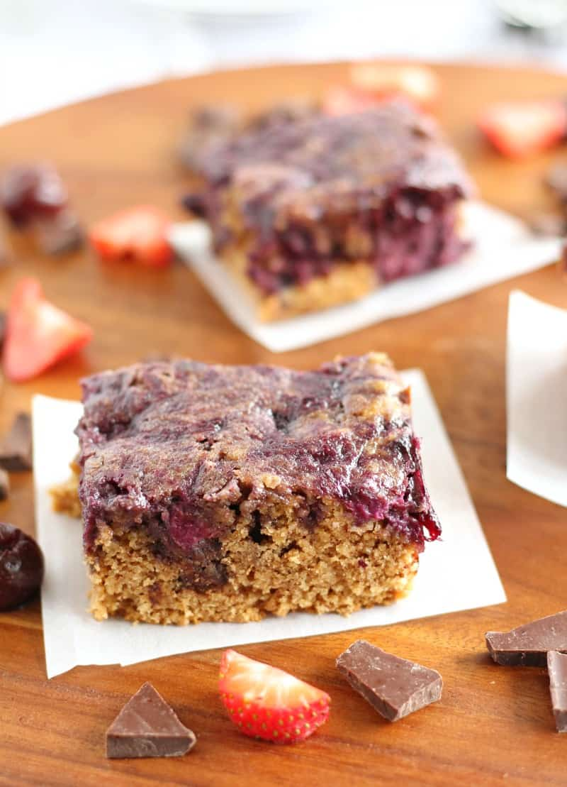 Almond Butter Berry Breakfast Bars 7