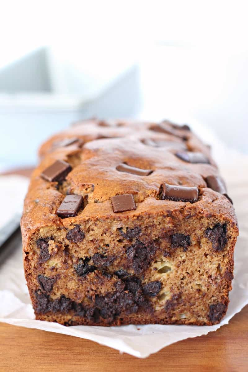 Chocolate Chunk Banana Bread Emily