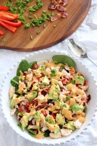 Tuna Salad with Chipotle Aioli
