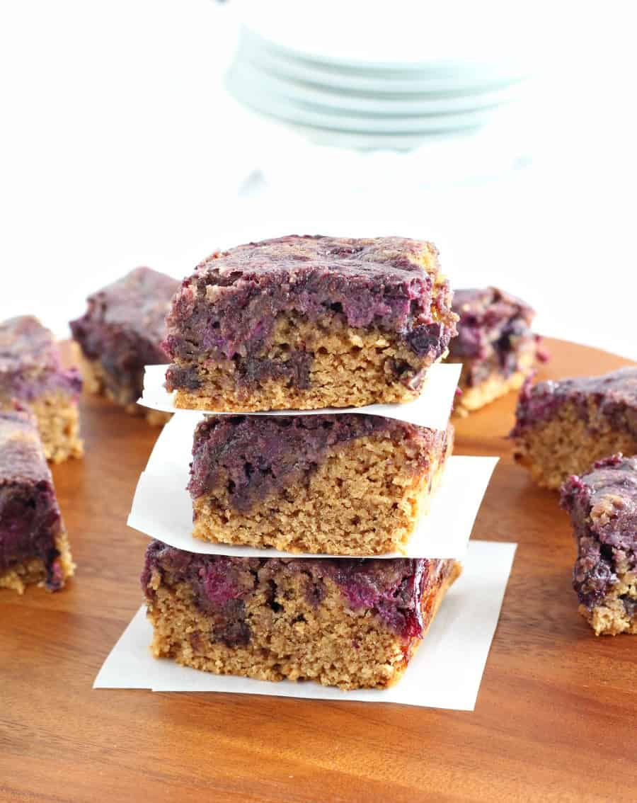 almond butter berry breakfast bars 3