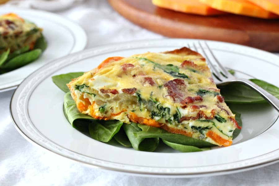 butternut crusted quiche 9