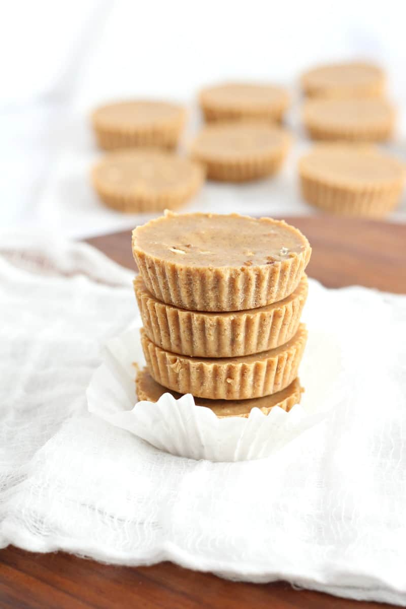 honey almond fudge cups 9
