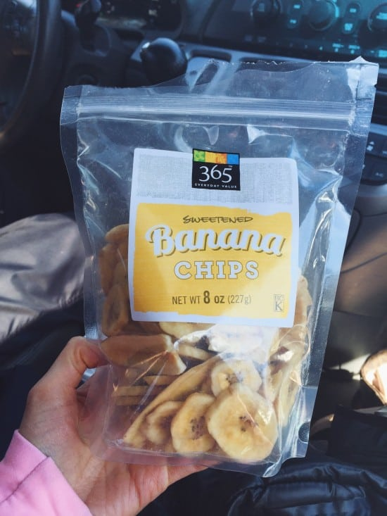 Banana Chips for the weekend